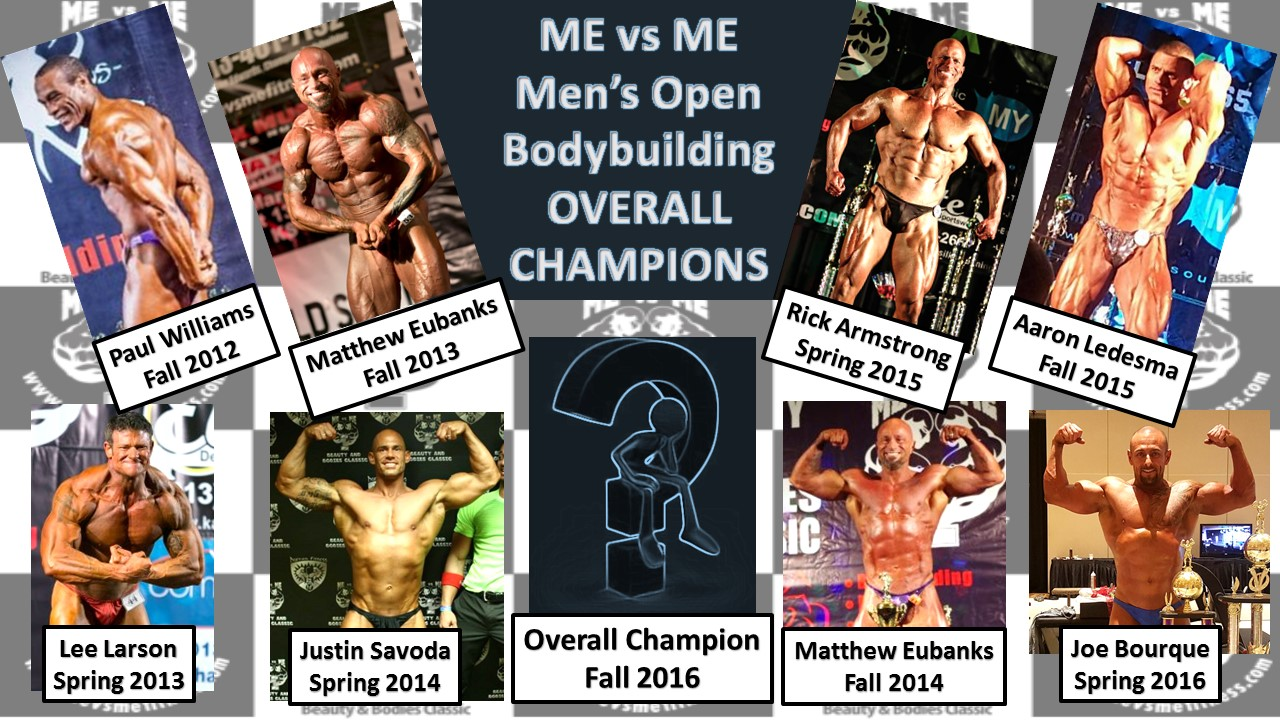 Mens Bodybuilding Overall Champions